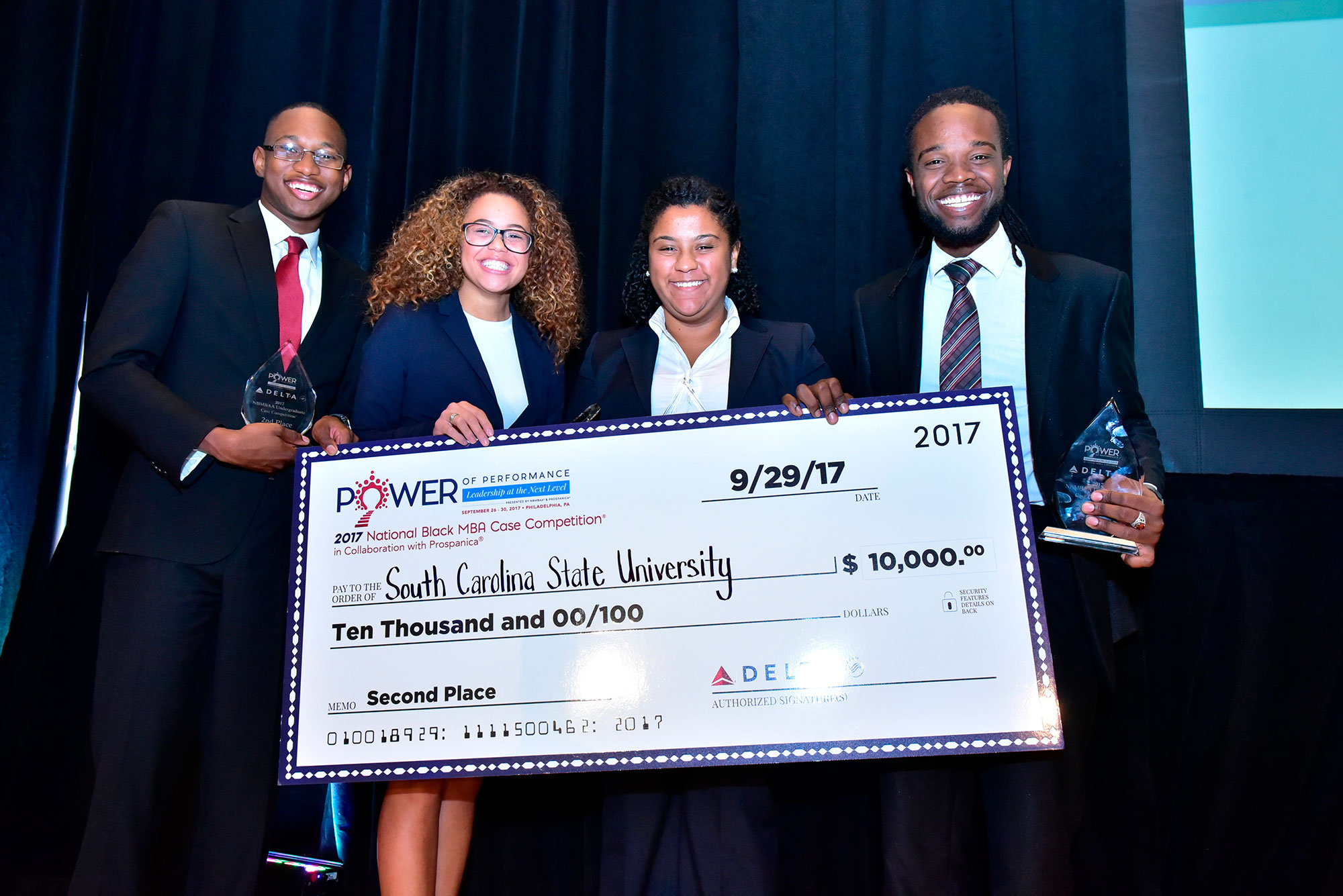 Welcome to national sales network - Case Competition Winners