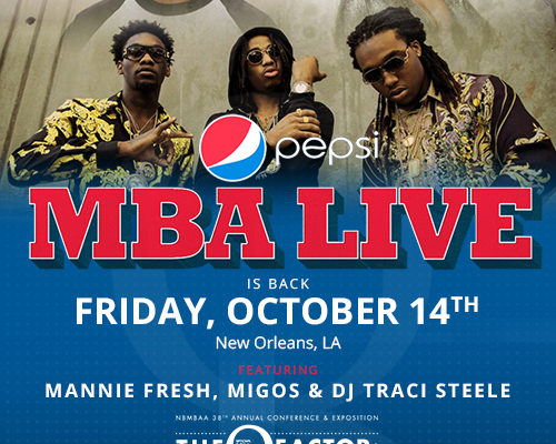 NEW ORLEANS | Pepsi MBA Live<sup>®</sup> – NOLA Style