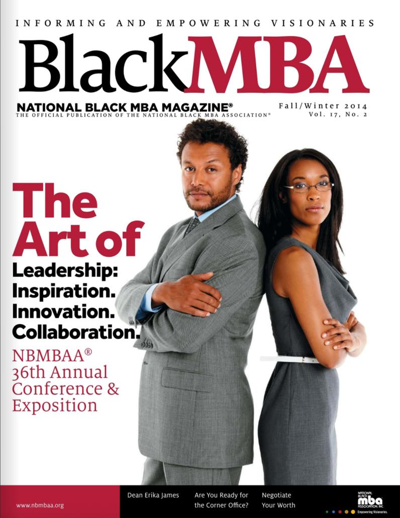 Black MBA Magazine Fall 2014