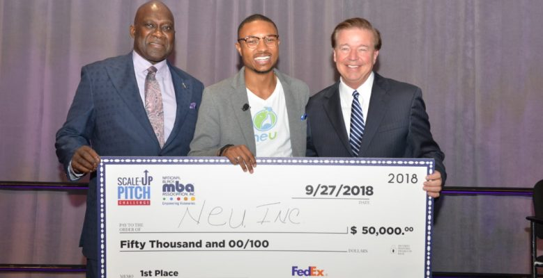 YOUNG ENTREPRENEUR WINS $50,000 AT THE NATIONAL BLACK MBA CONFERENCE