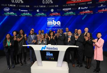 Black History Month at Nasdaq: NBMBAA<sup>®</sup> Rings the Opening Bell