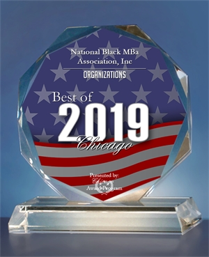 National Black MBA Association<sup>®</sup>, Inc. Receives 2019 Best of Chicago Award