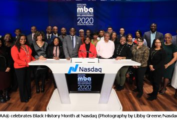The National Black MBA Association® Celebrates Black History Month at Nasdaq