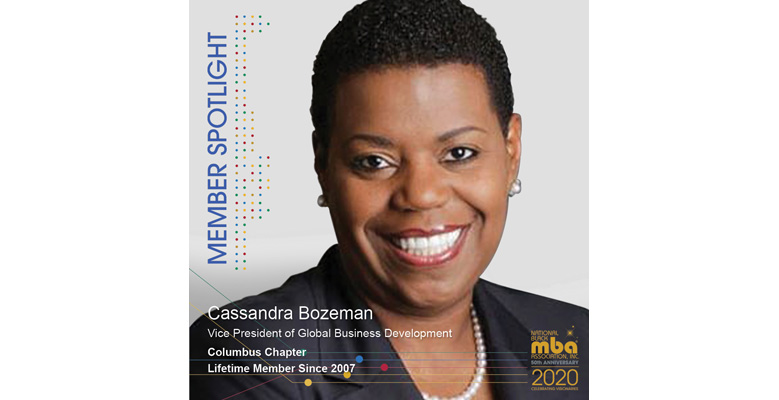Meet November's Member of the Month – Cassandra F. Bozeman