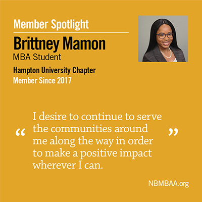 Meet March's Member of the Month – Brittney Mamon