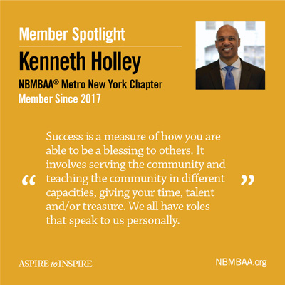 Meet May's Member of the Month – Kenneth Holley