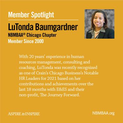 Meet June's Member of the Month – LuTonda Baumgardner